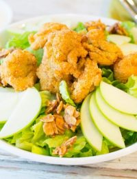 Fried Oyster Salad
