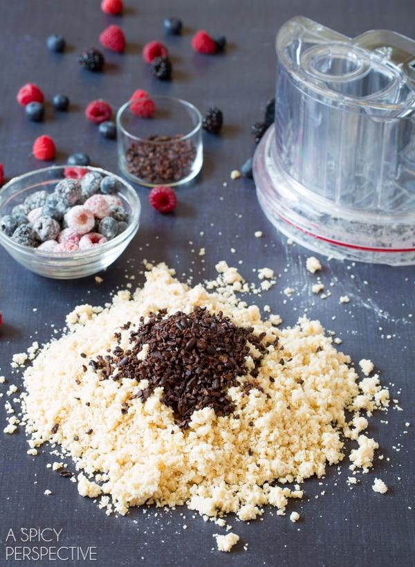 How to Make: Berry Cocoa Nib Scones! #scones #sconerecipe #berry