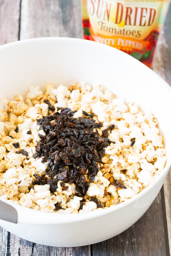 Amazing Tex Mex Popcorn on ASpicyPerspective.com #popcorn #texmex