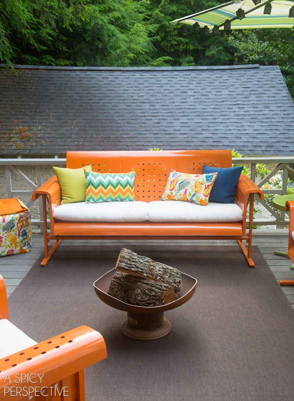 Retro Remodel - Your Outdoor Living Space #giveaway #diy #home