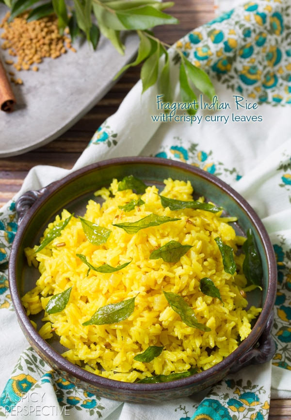 Fragrant Indian Rice Recipe - #rice #indian