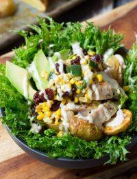 Southwest Chicken Caesar Salad