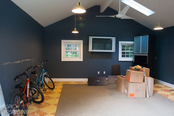 Home Improvement: Garage to Office Remodel #diy #remodel