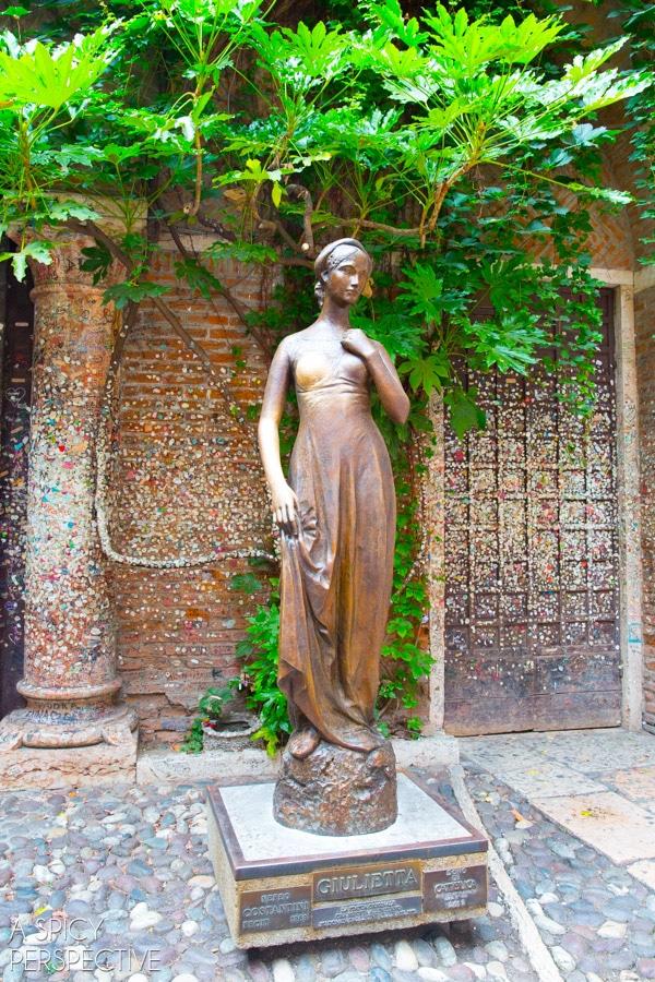 Juliet - Verona Italy #travel #italy #traveltuesday