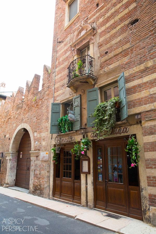 Romeo's House - Verona Italy #travel #italy #traveltuesday