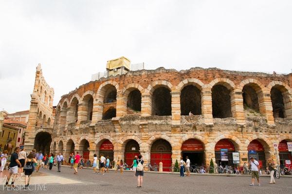 The Arena - Verona Italy #travel #italy #traveltuesday