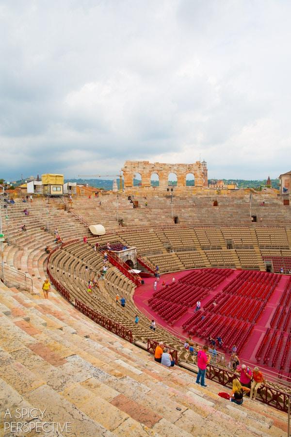 Arena - Verona Italy #travel #italy #traveltuesday