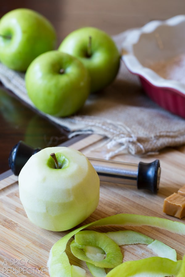 Baked Apples - Apple Bombs! #apple #fall #applepie