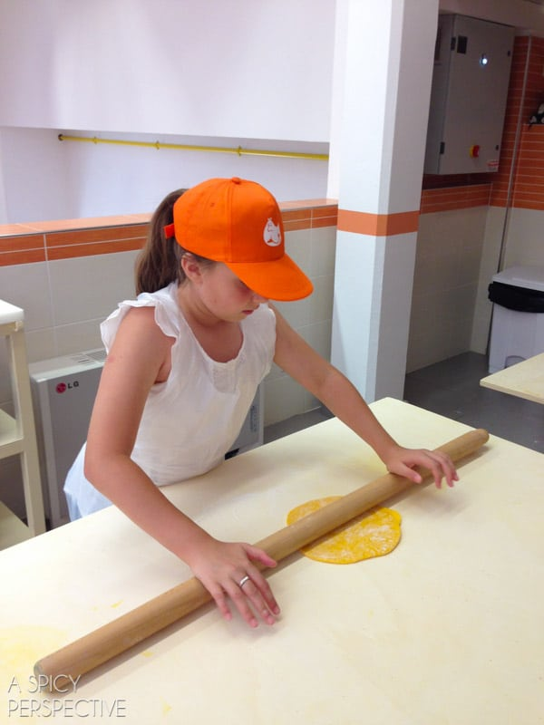 Cooking with Kids in Bologna Italy - Travel Tips and Photos on ASpicyPerspective.com #travel #italy
