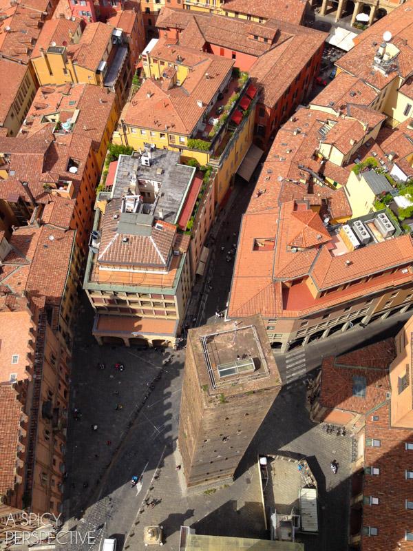 View - Torre Asinelli and Torre Garisenda