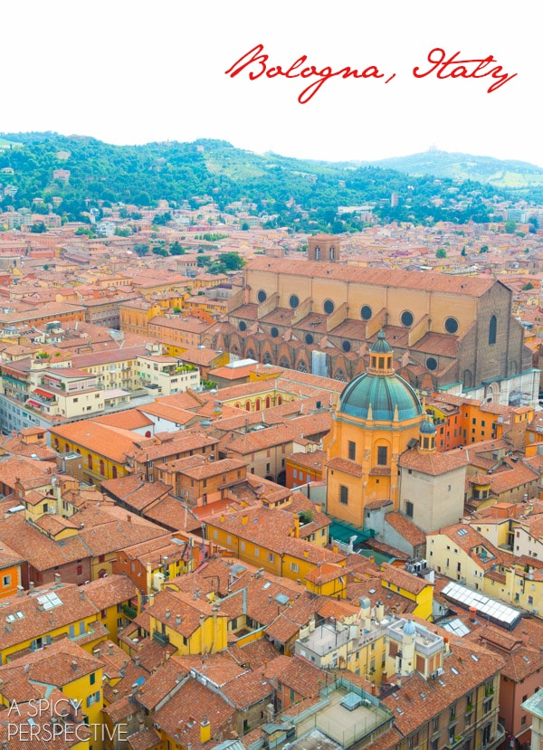 Bologna Italy - Travel Tips and Photos on ASpicyPerspective.com #travel #italy
