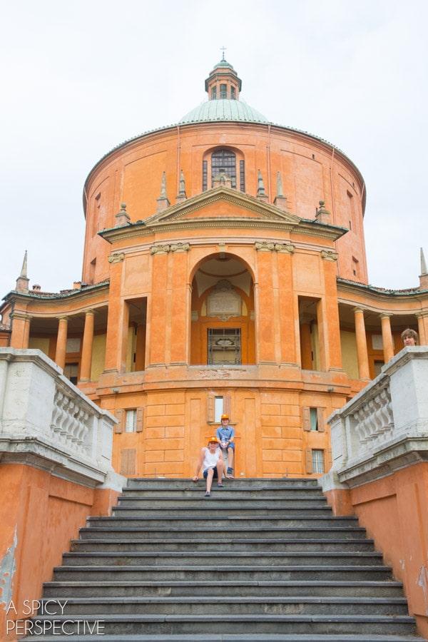 San Luca Church - Bologna Italy - Travel Tips and Photos on ASpicyPerspective.com #travel #italy