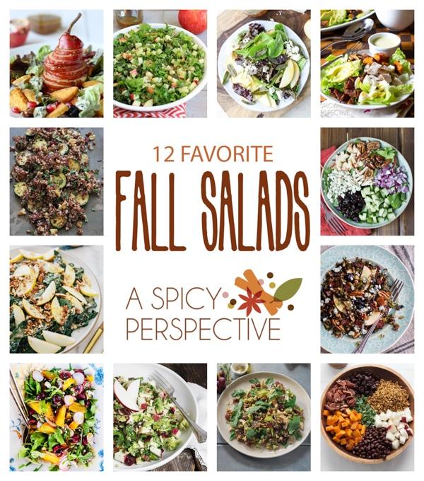 Top 12 Fall Salads on the Web! #fall #salads