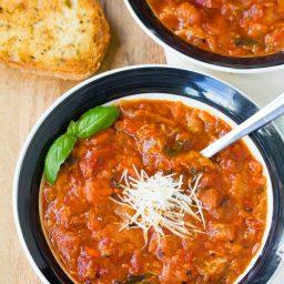 Pappa al Pomodoro - Italian Homemade Tomato Soup Recipe