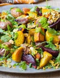 Roasted Root Vegetables Salad