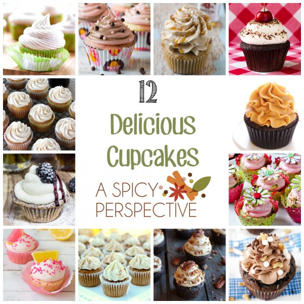 Best of the Best Cupcake Round Up! #cupcakes