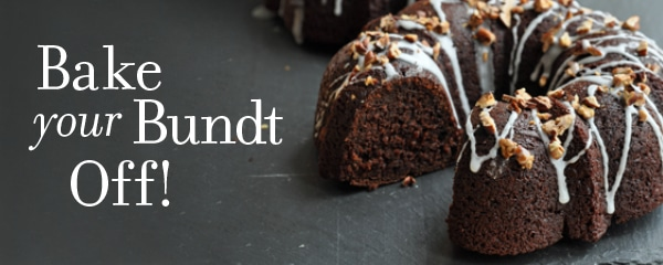 Bake Your Bundt off Giveaway!