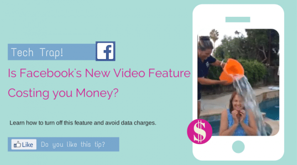 Is Facebook's new auto-play video feature costing you money?