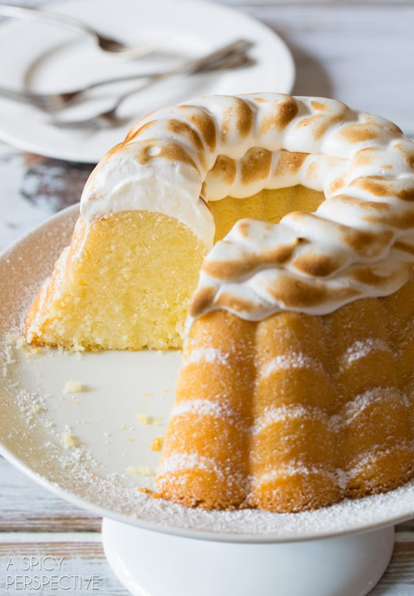 Lemon Meringue Bundt Cake - S'mores Bundt Cake - Buttermilk Cherry Bundt Cake - Brilliant Bundt Cakes Ebook Release Party! #bundtcake #ebook