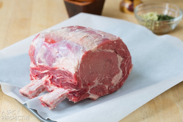 Making Fool-Proof Standing Rib Roast Recipe #holiday #roast #beef #christmas #dinnerparty