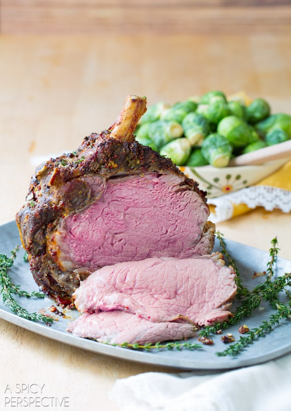 Amazing Fool-Proof Standing Rib Roast Recipe #holiday #roast #beef #christmas #dinnerparty