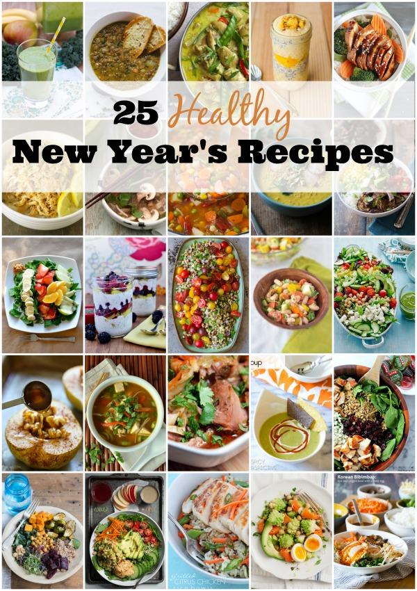 25 Healthy New Year's Recipes