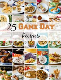 25 Game Day Recipes #SuperBowl #Party