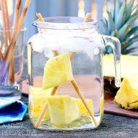 Pineapple Sugarcane Water #healthy