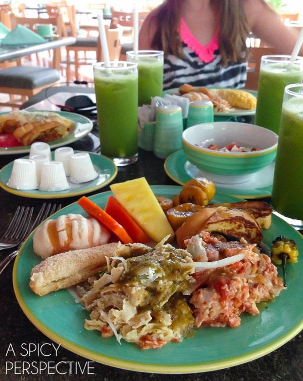 All Inclusive Resort Breakfast