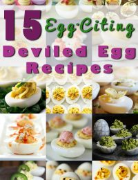 The BEST 15 Deviled Egg Recipes for Spring! #deviledeggs #easter #spring