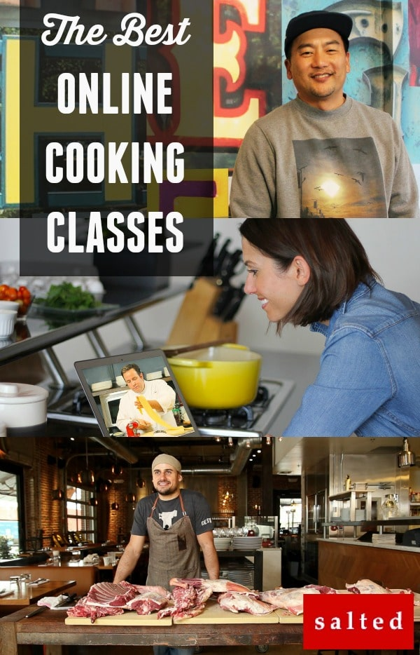 Salted.tv - The BEST Online Cooking Classes Available. Learn why!