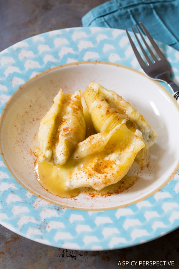 Love these Enchilada-Style Mexican Stuffed Shells