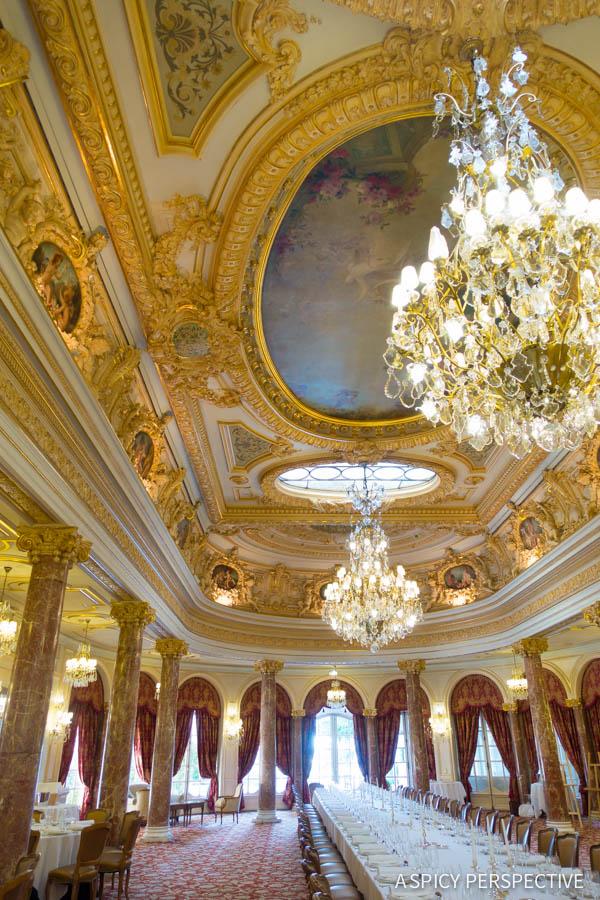 Hotel Hermitage Dining - Monte Carlo Monaco on ASpicyPerspective.com #travel #frenchriviera #cotedazur