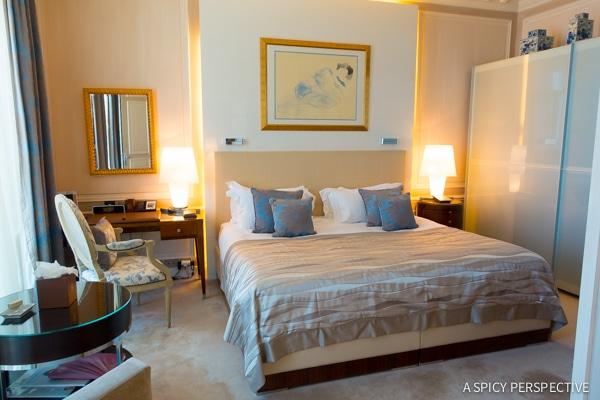Suites of Hotel Hermitage - Monte Carlo Monaco on ASpicyPerspective.com #travel #frenchriviera #cotedazur