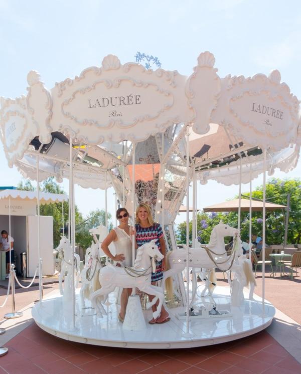 Laduree Carousel Monte Carlo Monaco on ASpicyPerspective.com #travel #frenchriviera #cotedazur