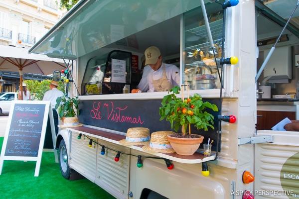 Food Trucks - Monte Carlo Monaco on ASpicyPerspective.com #travel #frenchriviera #cotedazur