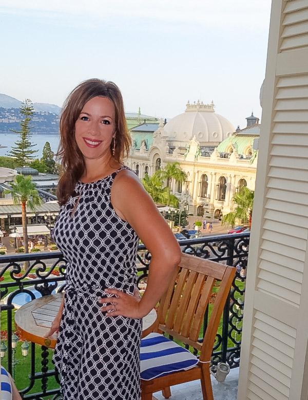 Sommer Collier at Hôtel de Paris in Monte Carlo Monaco on ASpicyPerspective.com #travel #frenchriviera #cotedazur