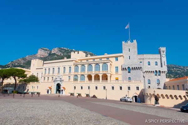Royal Palace - Monte Carlo Monaco on ASpicyPerspective.com #travel #frenchriviera #cotedazur