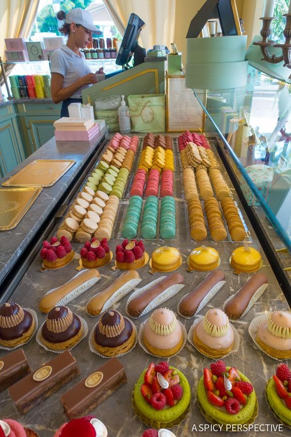 Laduree - Monte Carlo Monaco on ASpicyPerspective.com #travel #frenchriviera #cotedazur