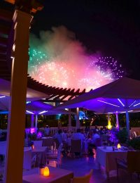 Fireworks Over Monte Carlo Monaco on ASpicyPerspective.com #travel #frenchriviera #cotedazur