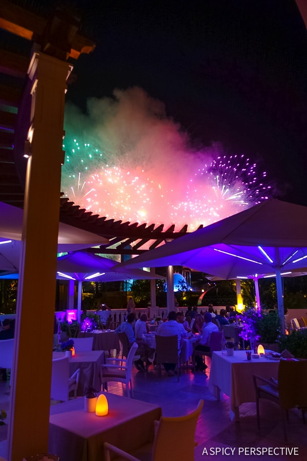 Fireworks Over Monte Carlo Monaco on ASpicyPerspective.com #travel #frenchriviera #cotedazur