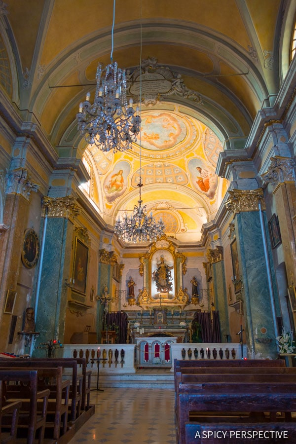 Cathedrals - French Riviera Travel Tips on ASpicyPerspective.com #travel #france