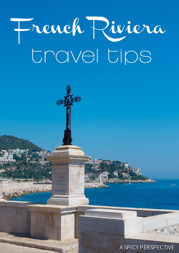 Learn the Best French Riviera Travel Tips on ASpicyPerspective.com #travel #france