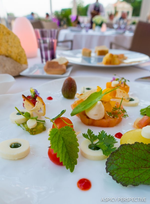 Dining - French Riviera Travel Tips on ASpicyPerspective.com #travel #france
