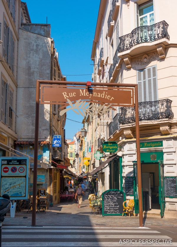 Shopping in Cannes, France on ASpicyPerspective.com #travel #france