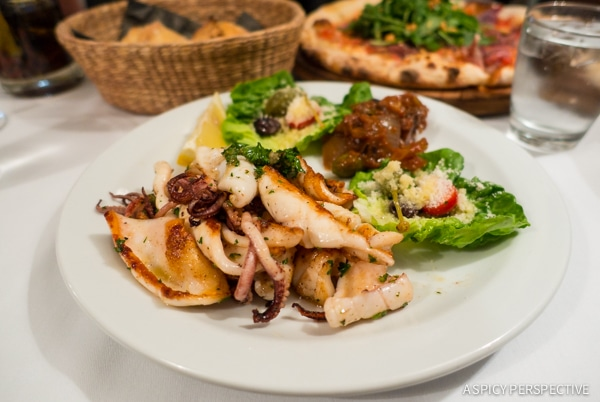 Dining in Saint Tropez, France on ASpicyPerspective.com #travel #france