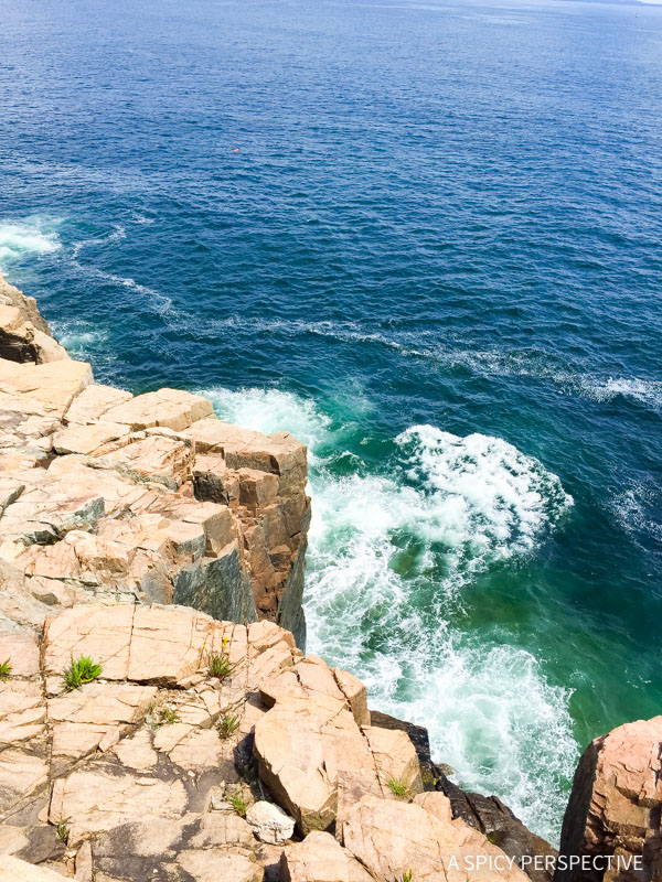 Otter Cliff in Acadia National Park Maine - on ASpicyPerspective.com #travel
