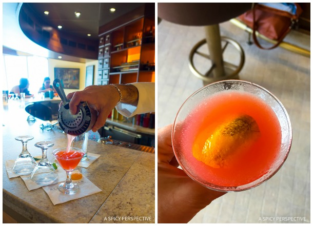 Cruising for Foodies - The Alchemy Bar Mixology Class on the Carnival Sunshine