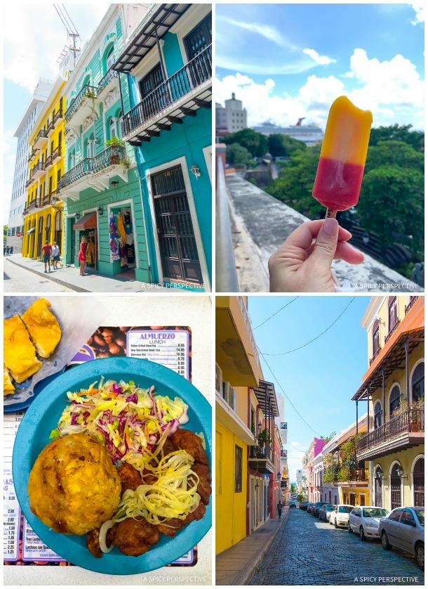 Cruising for Foodies - Carnival Sunshine in San Juan Puerto Rico