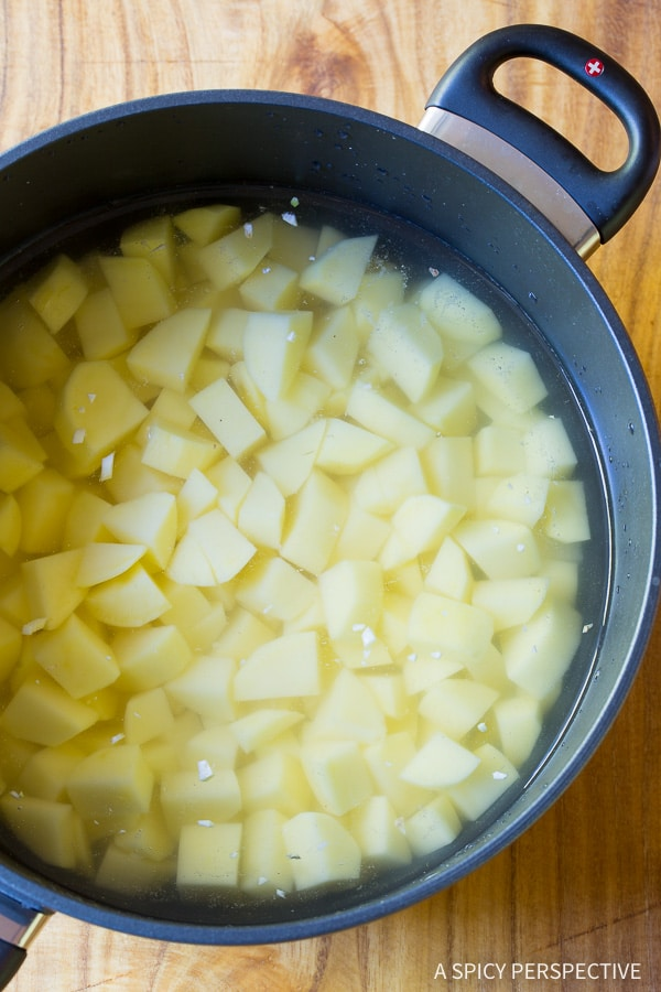 Mashed Potatoes Recipe #ASpicyPerspective #thanksgiving #holidays #christmas